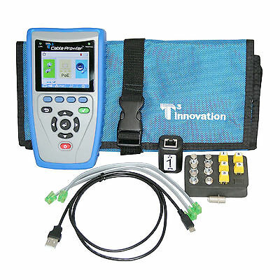 T3 Innovation CB300 Cable Prowler Network Cable Tester Kit - New