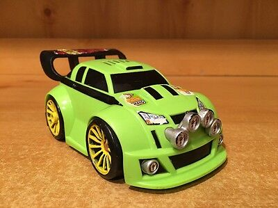 Fisher Price Shake N Go #10 Lime Green Race Car