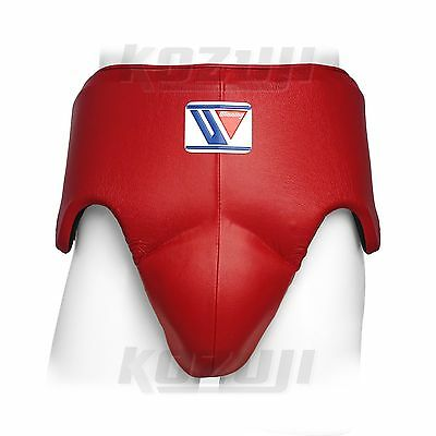 Winning Boxing Groin Protector CPS-500-B Red, Standard Cut, New from Japan