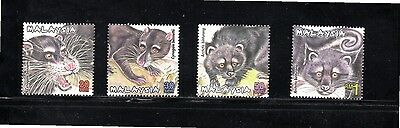 Malaysia 2000 Protected Mammals of Malaysia (2nd series) SG 923/6 MUH