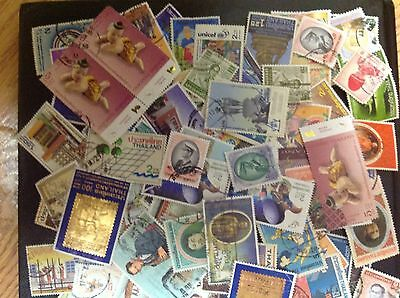 Thailand 170 Of Used Stamps Very Large Classic Collection... # 1