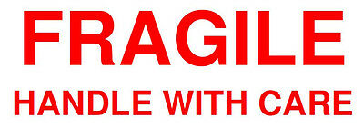 130 Fragile Label Stickers Postal Shipping Office Supplies Envelopes Stationery