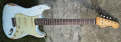 Genuine Celluloid Pickguard for Stratocaster Guitars - 1959 to 1963