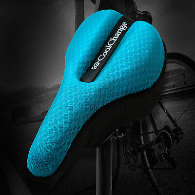 Comfort 3D Cycling Bicycle Bike Soft Cotton Pad Saddle Seat Cushion Cover