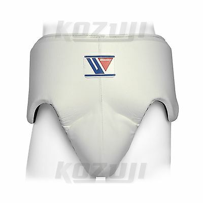 Winning Boxing Groin Protector CPS-500-B White, Standard Cut, New from Japan