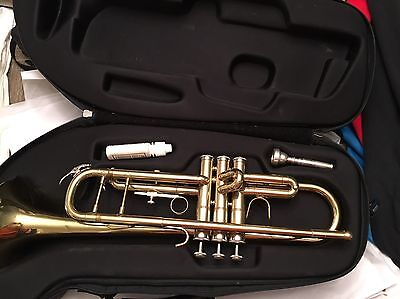 Borg Trumpet Nice With Case Retail $170 No Reserve!