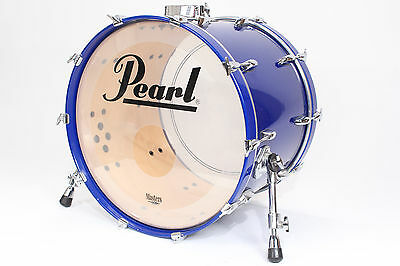 Pearl Session Series 22x16 Bass Drum (Blue) w/ Mount #1