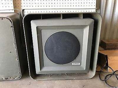 1960's Electro-Voice Musicaster 1A All Weather Speakers