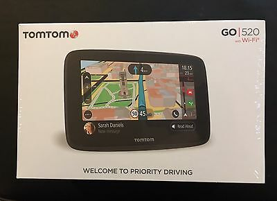 Brand New Sealed Tomtom Go 5200 With Wifi