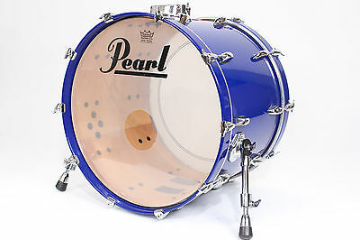 Pearl Session Series 22x16 Bass Drum (Blue) w/ Mount #2