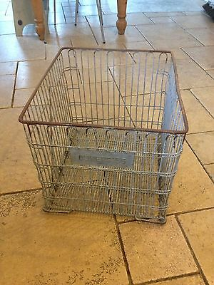 Industrial Galvanised Crates (2 For Sale