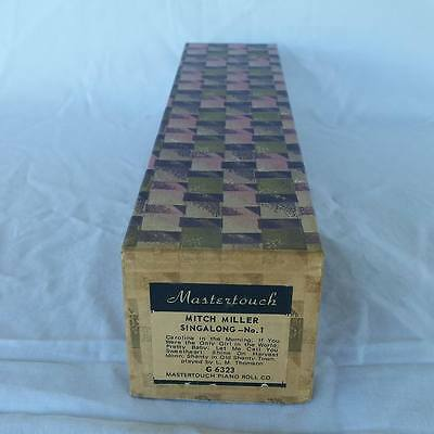 Pianola Piano Roll Mitch Miller Singalong No 1 Mastertouch G 6323 - 001
