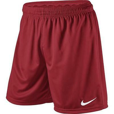 Nike Park Soccer Football Shorts- Red- 100% Official Nike Product
