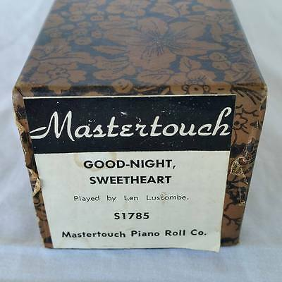 Pianola Piano Roll Good-night Sweetheart Mastertouch S 1785 - 009