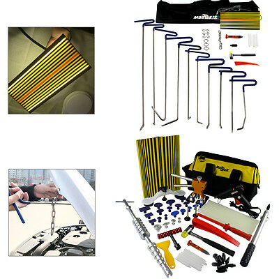 PDR Paintless Dent Repair Tools Removal Tabs Slide Hammer Puller Rods Glues Kits