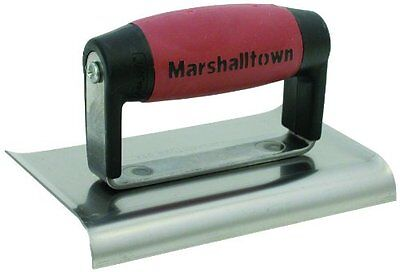 MARSHALLTOWN The Premier Line 136D 6-Inch by 3-Inch Edger with DuraSoft Han