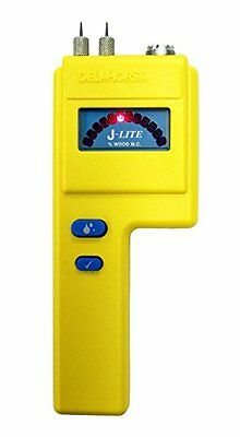 Delmhorst J-LITE 6% to 30% Pin LED Wood Moisture Meter