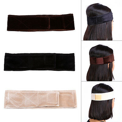 1PC Flexible Velvet Wig Grip Scarf Head Hair Band Wiggery Accesseries Sports LJ