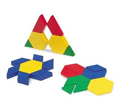 Learning Resources Plastic Pattern Blocks