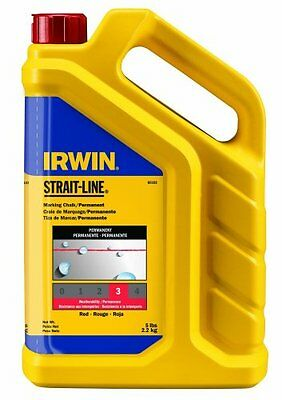 Strait-Line 65102 5lb Red Chalk