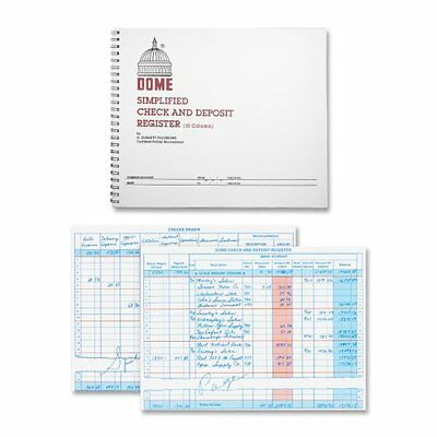 DOM210 Check and Deposit Registry Book