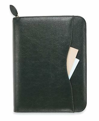 Day-Timer Avalon Simulated Leather Planner, Zip Closure, Folio Size, 11 x 1