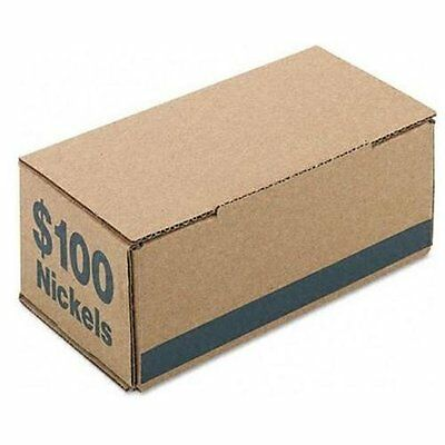 PM+=GªP-= Company Coin Boxes, Nickles, $100.00, Bundle Of 50