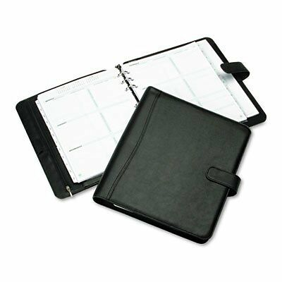 Day-Timer Avalon Simulated Leather Personal Organizer Starter Set, Snap-Tab