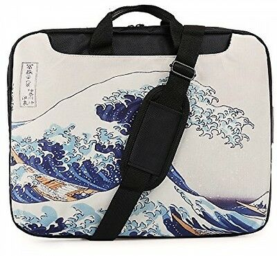TaylorHe 15.6 inch 15 inch 16 inch Hard Wearing Nylon Laptop Carry Case Laptop
