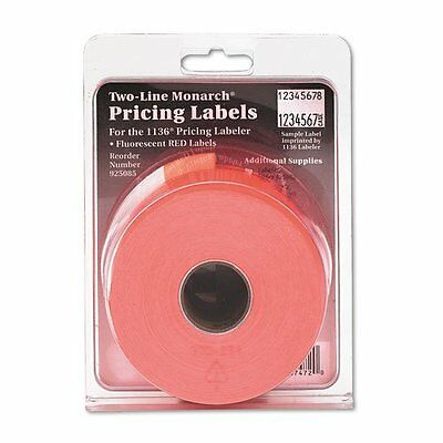 Monarch PAXAR Two-Line Easy-Load Pricemarker Labels, 0.625 x 0.875 Inches,