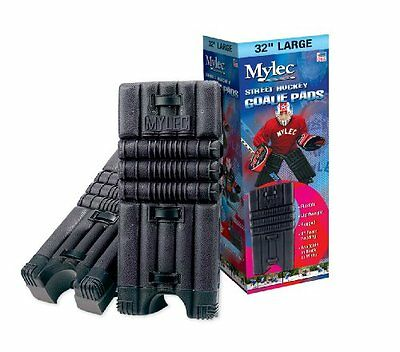 Mylec Goalie Pads, Black, Medium