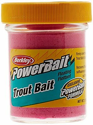 Berkley Powerbait Biodegradable Trout Bait, Pink, 1.75-Ounce