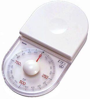 Tanita analog cooking scale poco NO. The palm size that is c