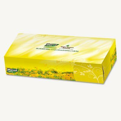 Marcal(R) Fluff Out(R) 2-Ply Facial Tissues, Box Of 100, Case Of 30 Boxes