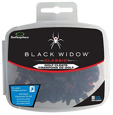 Softspikes Black Widow Classic Cleat Large Plastic (22 Count Kit)