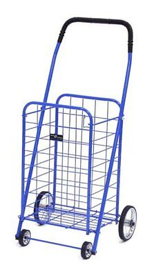 Easy Wheels Mini Shopping Cart, Blue