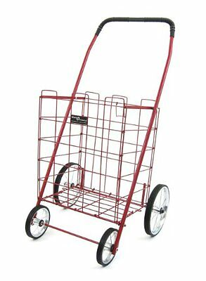 Easy Wheels Shopping Cart Mitey, Red