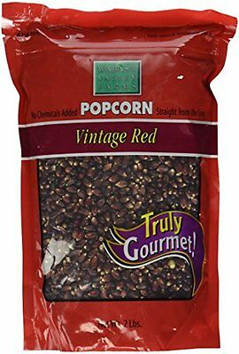 Wabash Valley Farms Amish Country Gourmet Popping Corn, Vintage Red, 2-Poun