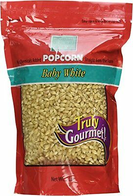 Wabash Valley Farms Amish Country Gourmet Popping Corn, Baby White, 2-Pound