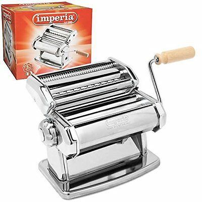 Imperia Pasta Maker Machine (150) By Cucina Pro - Heavy Duty