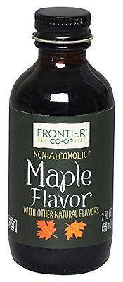 Frontier Maple Flavor Alcohol-Free  2-Ounce Bottle