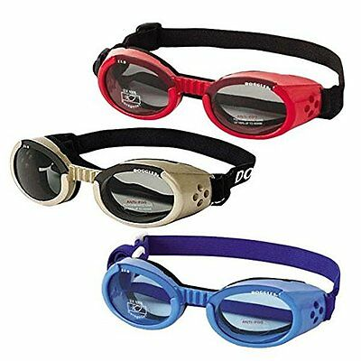 Doggles ILS Extra Small Chrome Frame and Smoke Lens