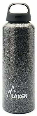Laken Classic Water Bottle Wide Mouth Screw Cap with Loop -