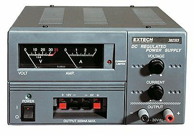 Extech 382203 Digital Single Output DC Power Supplies 18 Volt 3 Ampere with