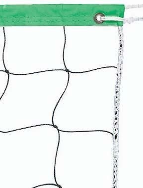 Champion Sports Vinyl Volleyball Nets, Neon Green, 32 x 3-Feet