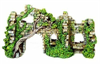 Exotic Environments Cobblestone Castle Walls Aquarium Orname