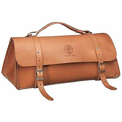 Klein Tools 5108-24 Deluxe Leather Bag