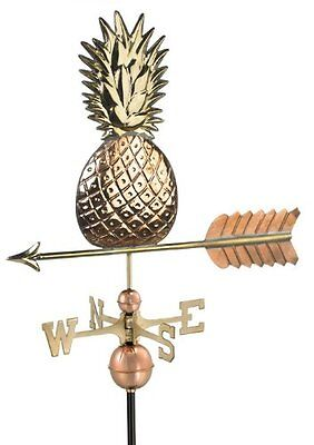 Good Directions 9635P Pineapple Weathervane, Polished Copper