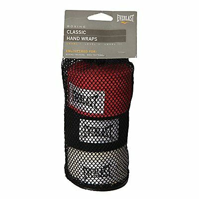 Everlast 4455-3 Hand Wraps Pack Of 3 (108 inches)