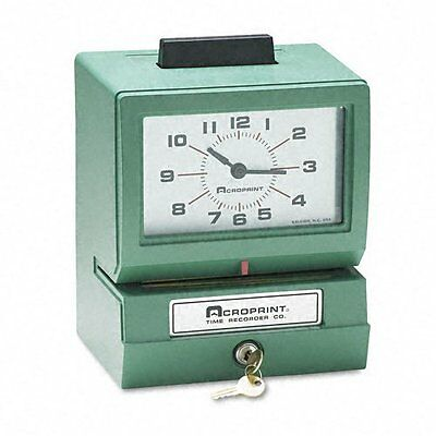 Acroprint 125ER3 Heavy Duty Manual Time Recorder for Day of